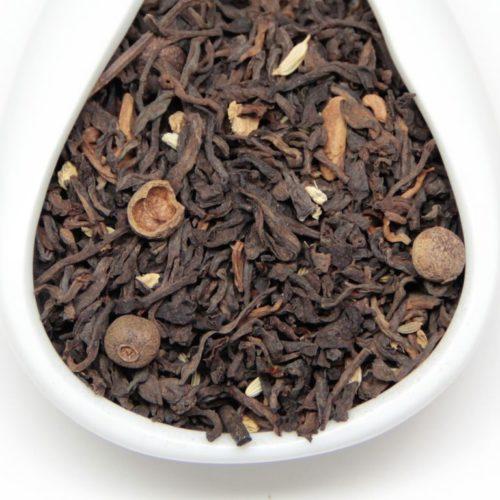 Чай Масала на Пуэре
